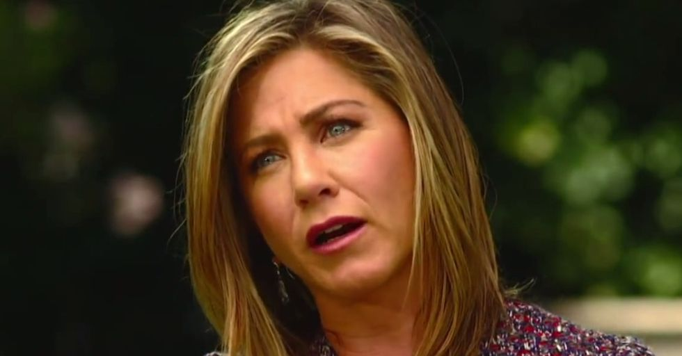 I love Jennifer Aniston's fantastically feminist response to the boring marriage and babies question.