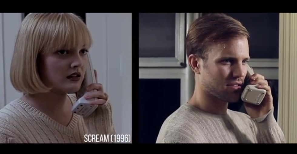 They Recast The Best Women's Horror Movie Scenes With Dudes. It Gets Weird.