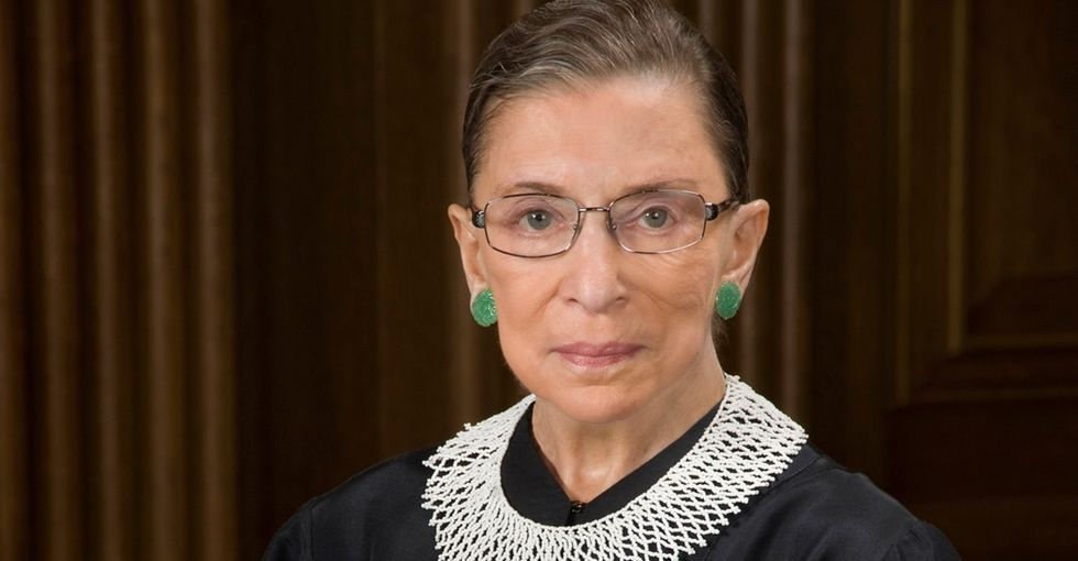 When It Comes To Gay Marriage, Ruth Bader Ginsburg Doesn't Just Talk The Talk