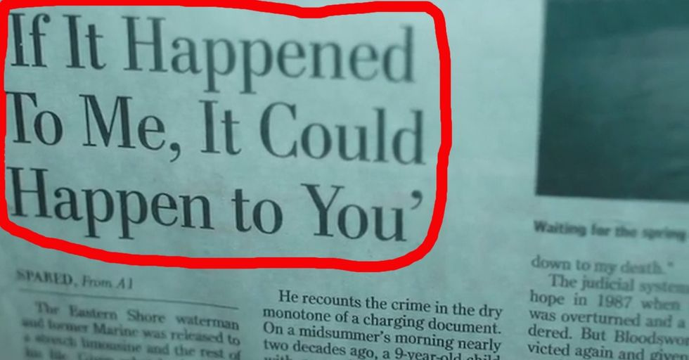Imagine: You're 21, Newly Married. The Cops Have Just Charged You With The Murder Of A Little Girl.