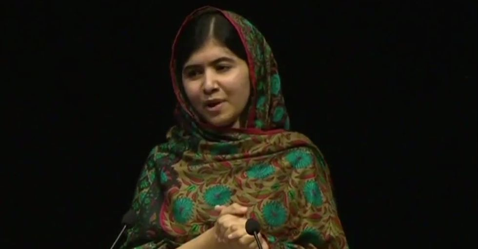 Malala Just Gave A Stunning Acceptance Speech, Even Though She Didn't Feel She Deserved The Prize