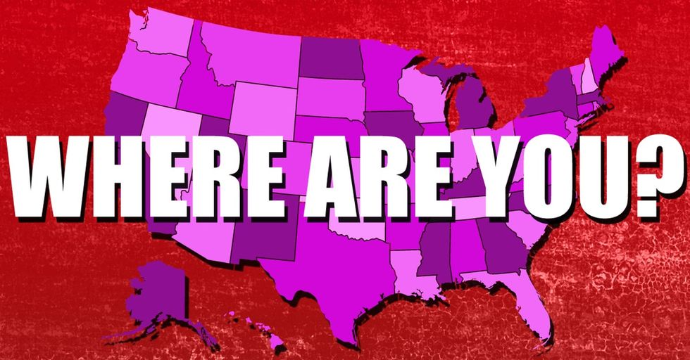 How Will This Super-Nifty Interactive Map Of America Make You Feel? It Depends On Where You Live.