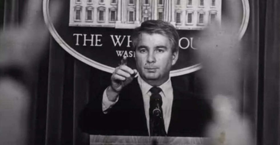 This audio of Reagan's press secretary and reporters laughing about AIDS should not be forgotten.