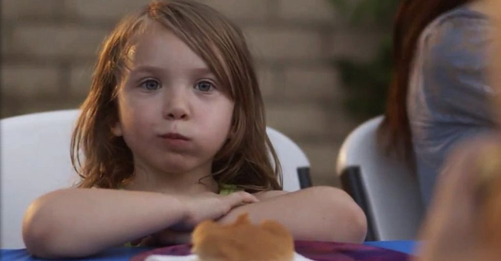 A bunch of little kids talk about the frightening reality they face every day. It gets real.