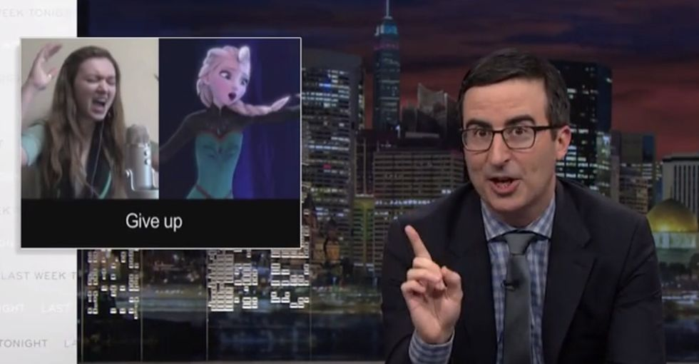 John Oliver Gets Bleeped So Much In This Rant About Translators That You Know He's Mad. Really Mad.