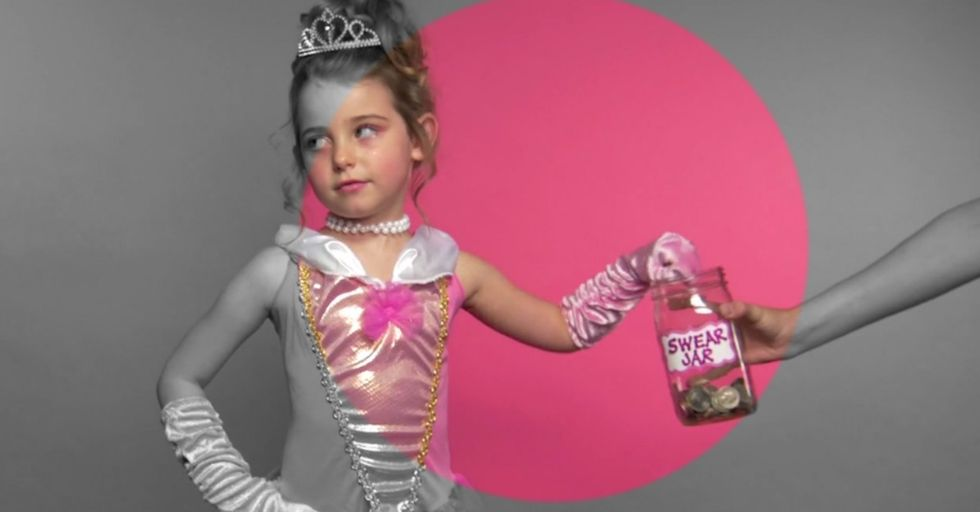 Nothing More Shocking Than Little Girls Dropping The F-Bomb Except The Words That Come After
