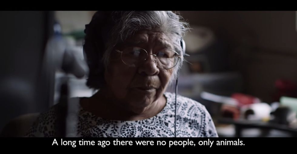 What she did to save her language from going extinct is inspiring.