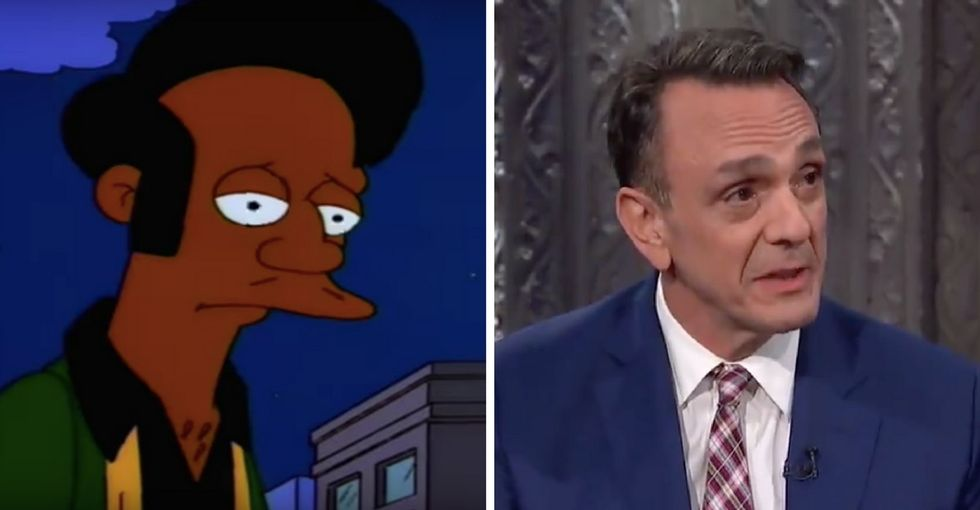 Hank Azaria gave an honest answer about his controversial 'Simpsons' role.
