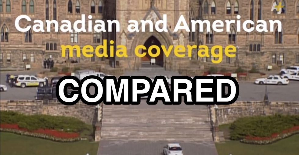 This Side-By-Side Comparison Of American And Canadian Media On The Parliament Shooting Says A Lot