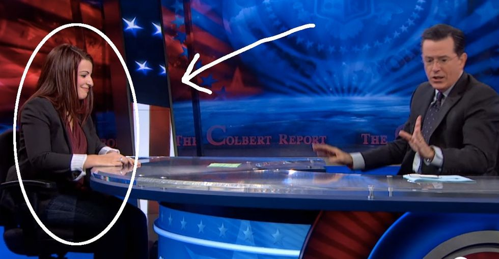 The Last 4 Words She Says To Stephen Colbert Are Everything. They Cut Through All The BS.