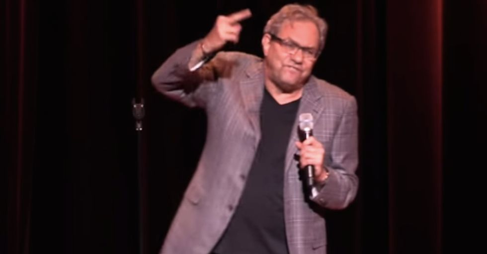 Here's Lewis Black with an amazing rant about teachers.