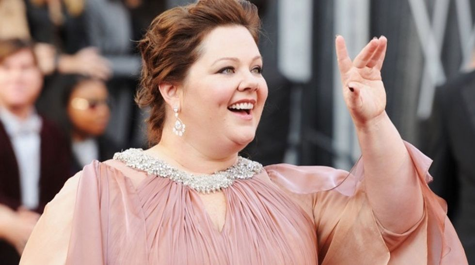 Melissa McCarthy launches a fashion line and calls for the end of separate plus-size departments.