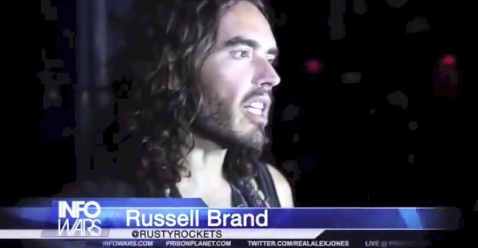 4 Minutes Of Russell Brand Thinking Out Loud That Really Got Me Thinking