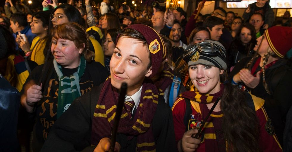23 magical photos from the new Harry Potter theme park's grand opening.