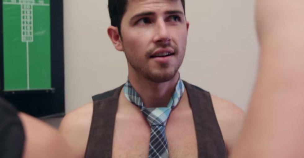 It's 'Normal' When Women Dress Sexy For Halloween. But When When Men Do, It's Pretty Jarring.