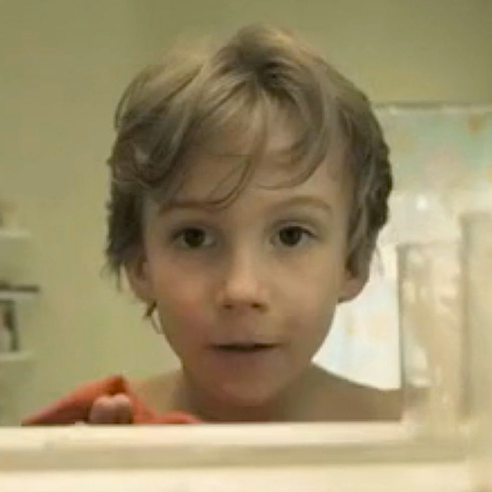 By The Time He's Done Brushing His Teeth, This Kid Will Be Dead. It's Pretty Cool.