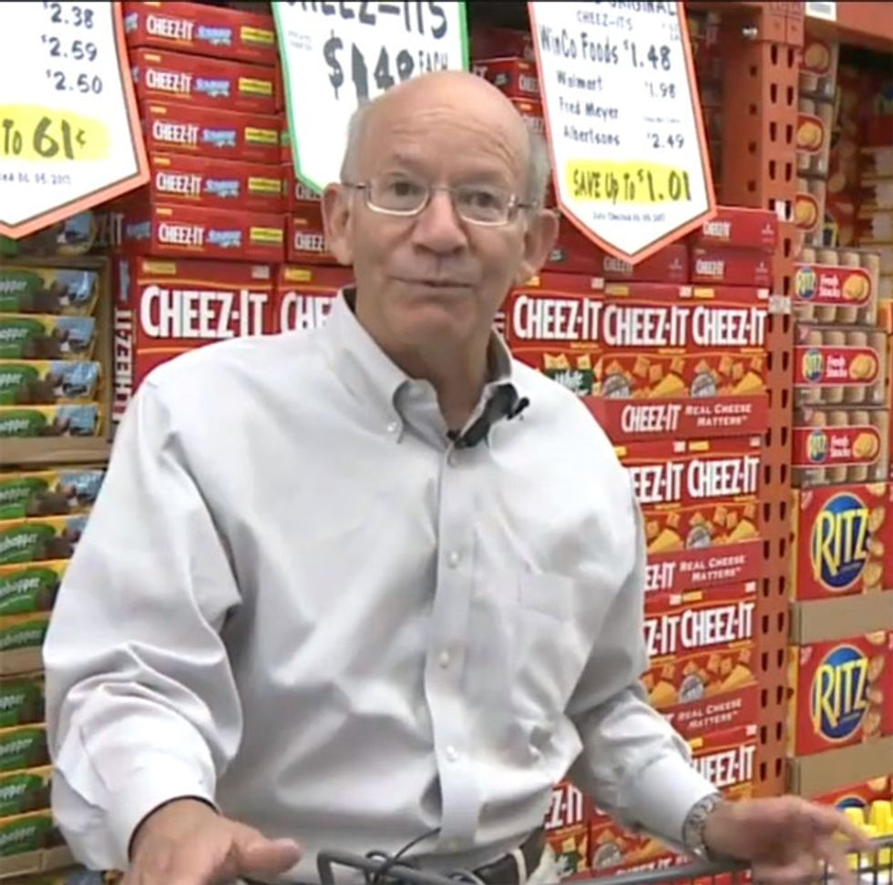 Awww, SNAP! — One Congressman Tries Living On Food Stamps