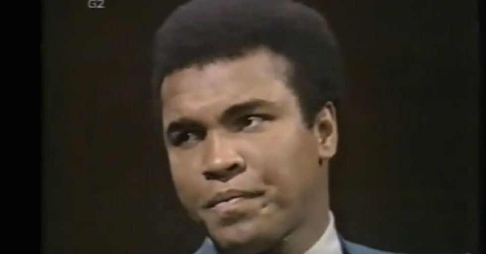 What Muhammad Ali Said In 1971 Was Both Funny And Shocking Then. But Listen To It Today.
