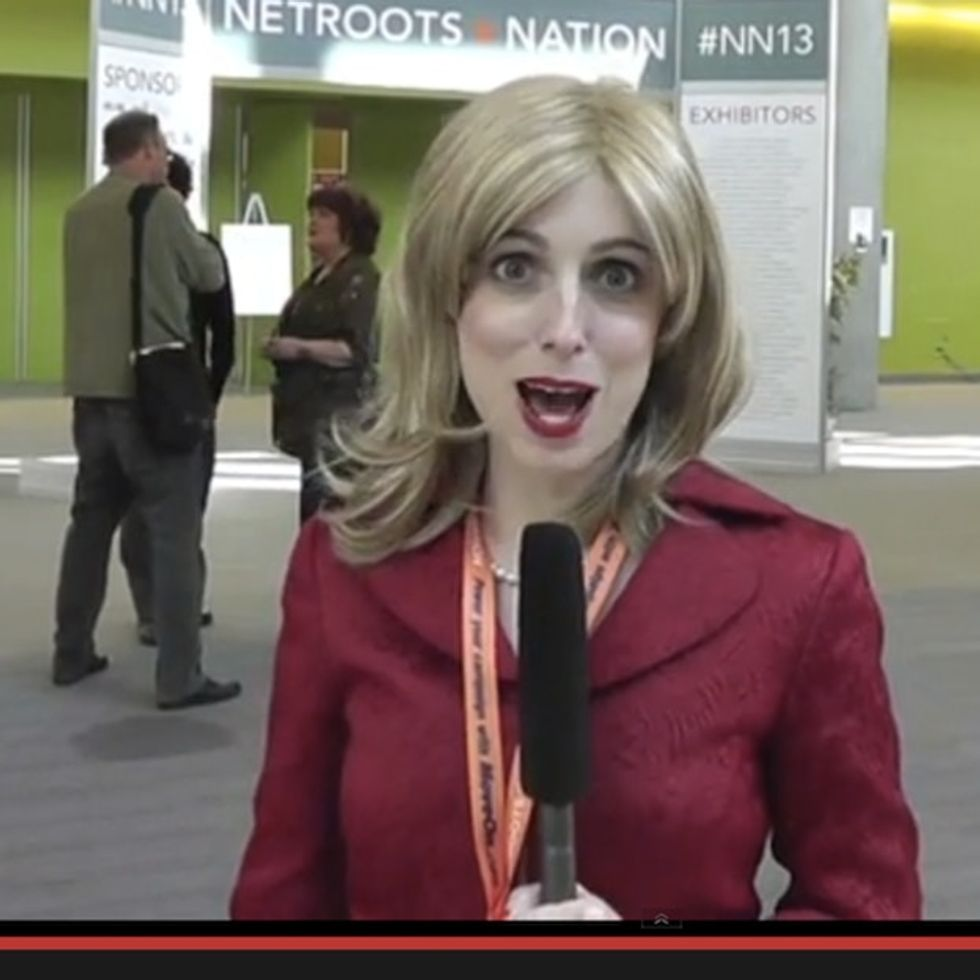 This liberal-hating reporter thought she had struck gold. Then she started talking to people.