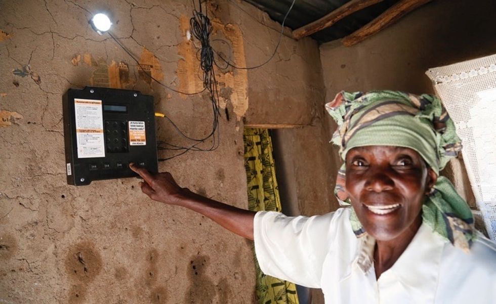 Solar module prices have hit a new low. So Akon's trying to bring power to all Africans.