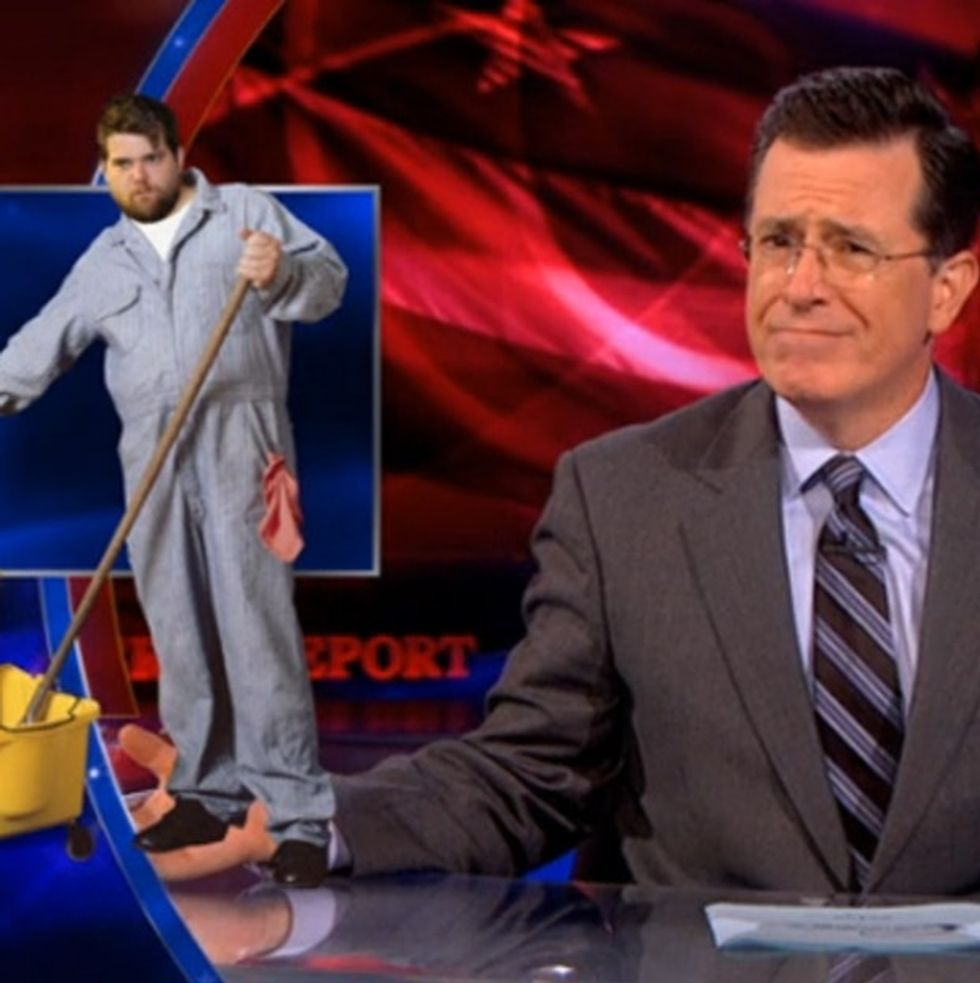 Stephen Colbert's Scathing, Hilarious Response To McDonald's McMinimum Wage Budget
