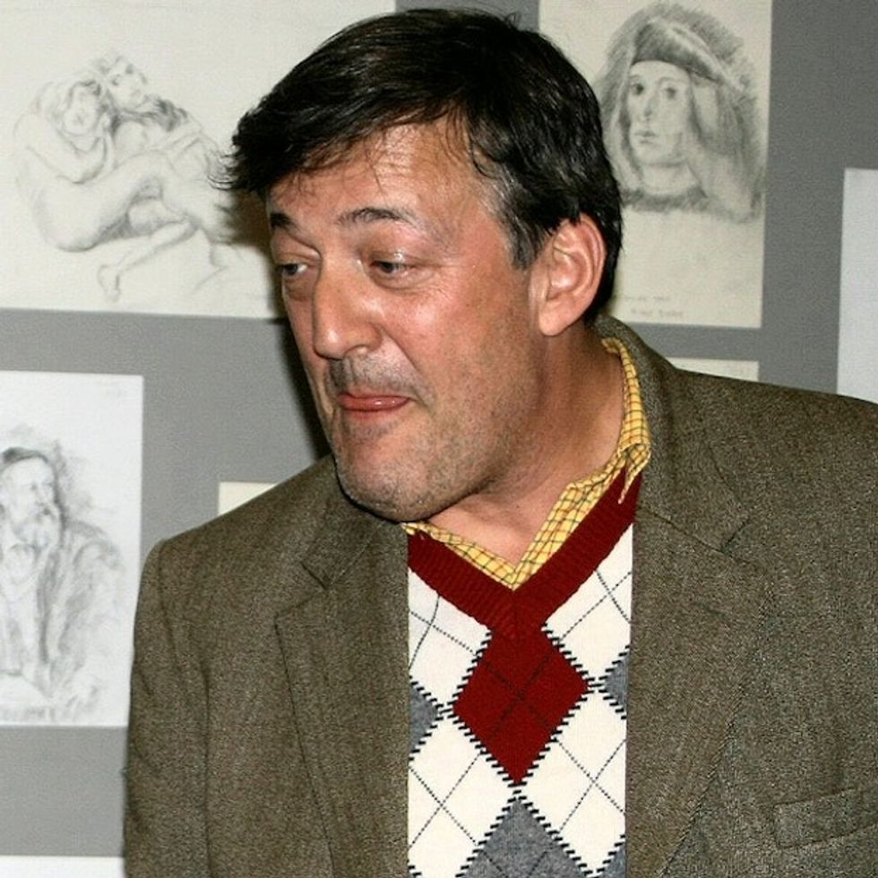 Stephen Fry's Bone-Crushing Final Remark In A Debate Against The Catholic Church