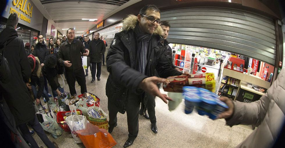 France figured out how to make its grocery stores feed even more people.