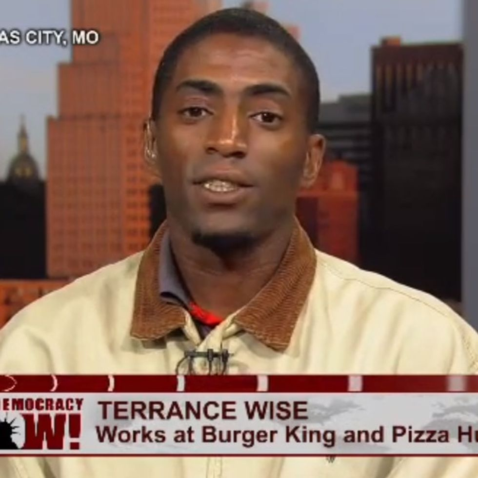 He's Worked At Burger King For 8 Years. Just Guess How Much He Makes.