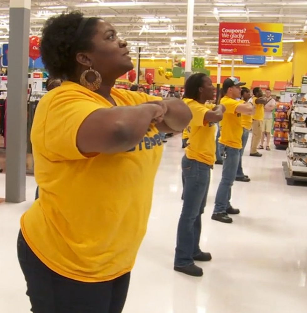 WHOA: Attention Walmart Shoppers, There's A Flash Mob On Aisle 4