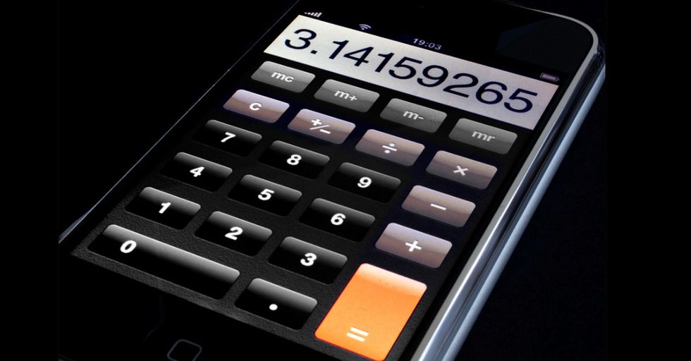 It's Not One Of Those Fancy Graphing Calculators, But It Could Save Your Behind One Day