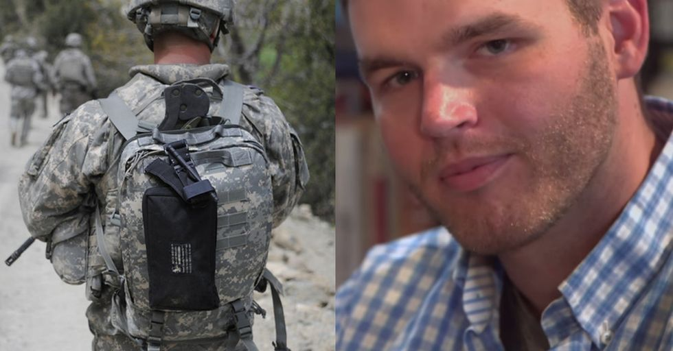 He's A Young Veteran Who Felt Like A Unicorn When Civilians Talked To Him. So He Started Something.
