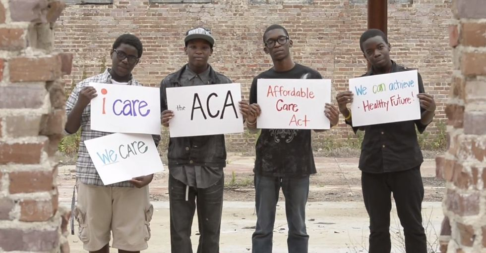 Sure, It's Not Perfect. But A Couple Of Teens Made The Most Authentic Obamacare Pitch I've Seen.