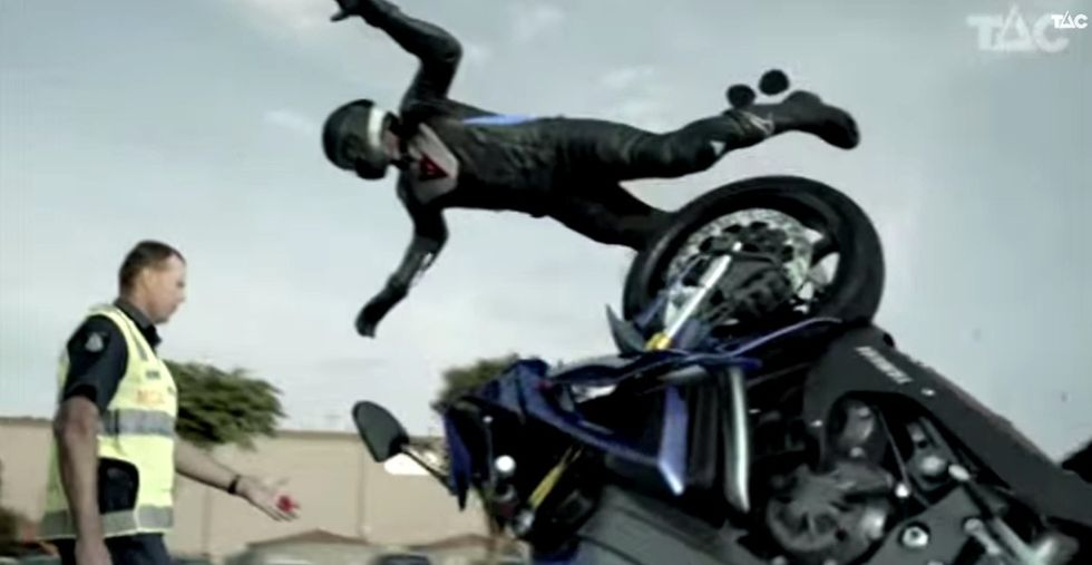 This Reconstruction Of A Motorcycle Is Mesmerizing And Cringe-y And Too Important Not To Watch