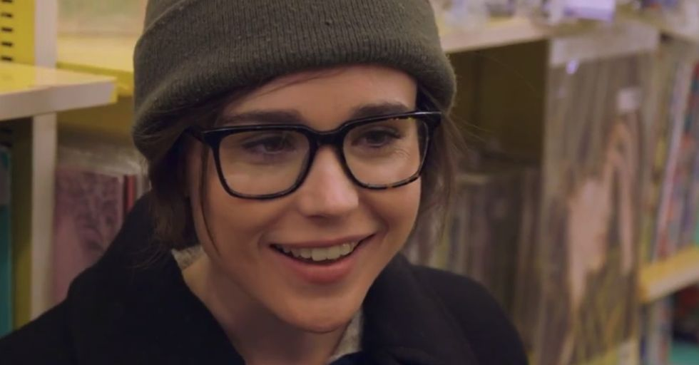 Watch as Ellen Page helps a man come out as gay to his mother.