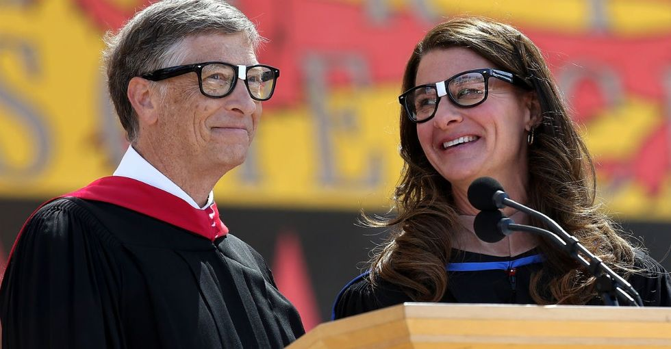 Why Bill and Melinda Gates think time and energy are global superpowers.