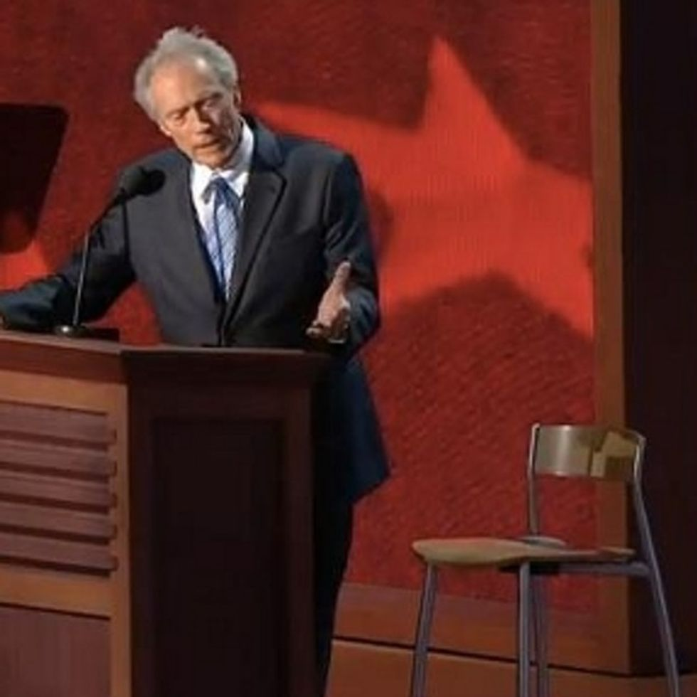 All I Wanted Was For Clint Eastwood's RNC Speech To Be Several Memes. Thank You, Internet!