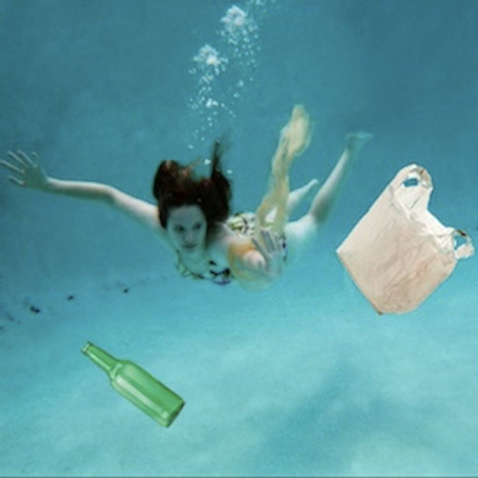 What Do Bikini Babes And Billions Of Pounds Of Plastic Trash Have In Common?