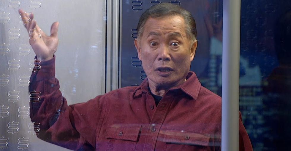 Takei Says 1 Word Before Colbert Disintegrates Him. It's A Big One.