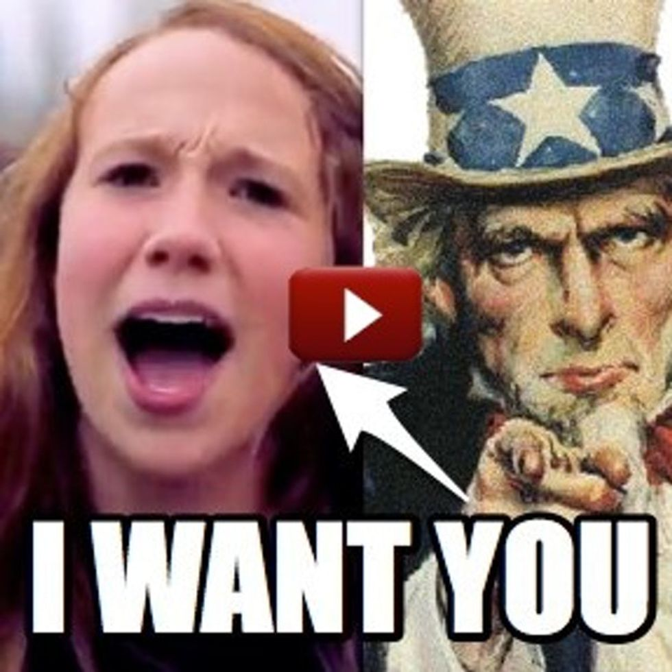 Uncle Sam Is Great, But If You Want Me To Join YOUR Army, This Is The Way To Go