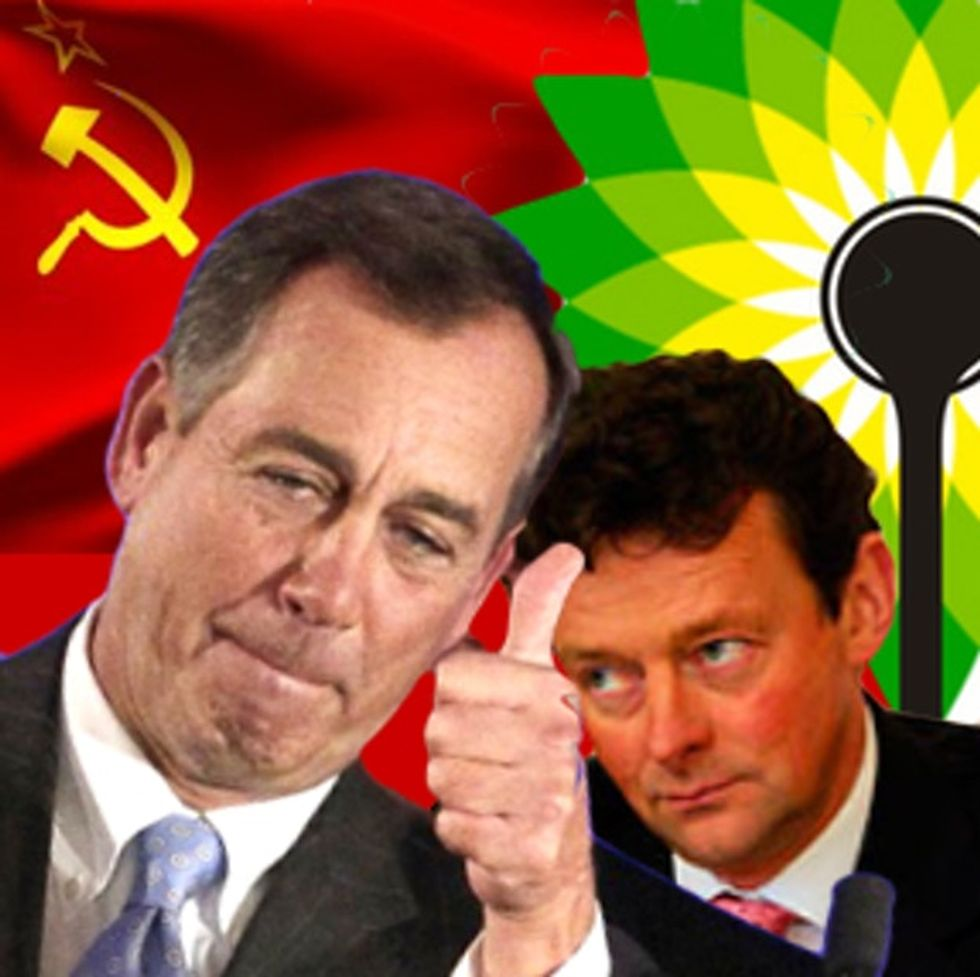 What's More Popular With Americans? Going Communist, BP During The Oil Spill, Or Congress?