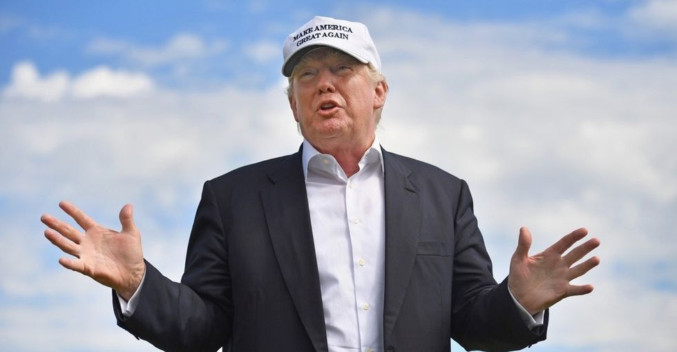 Where did Donald Trump get the idea that abortions happen on the due date?