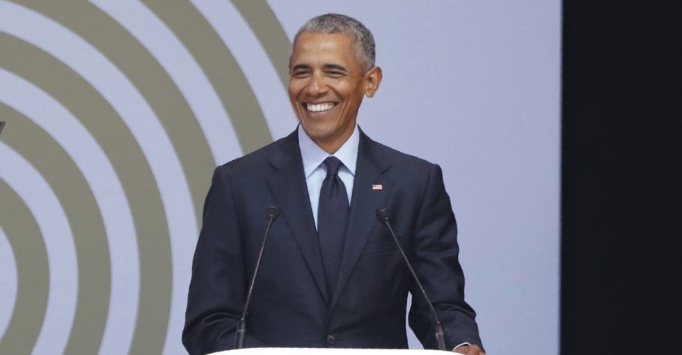 The 7 best lines from Obama's Mandela-inspired pep talk.