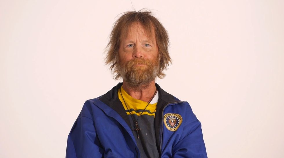 This incredible time-lapse shows us one homeless veteran's transformation.