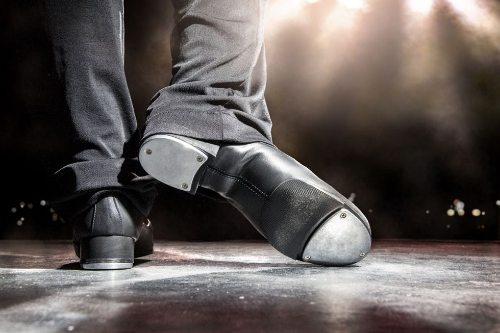 An 85-year-old tap dancer is inspiring many more to follow in his footsteps.