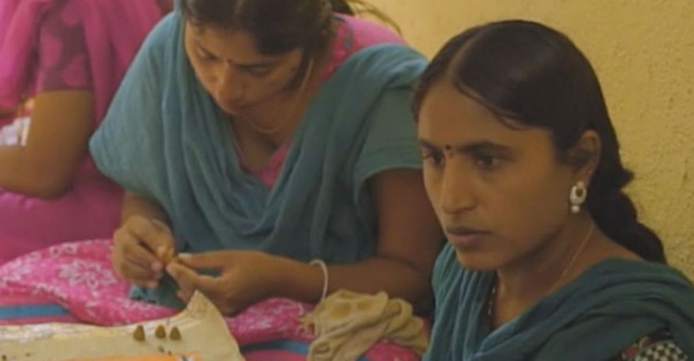 How one woman went from art classes with her kids to coordinating over 100 artisans.