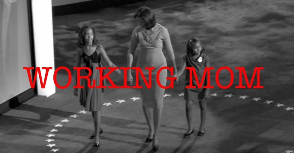Michelle Obama Was Asked About Being A Working Mom. I Didn't Expect Her Answer To Be So Real.