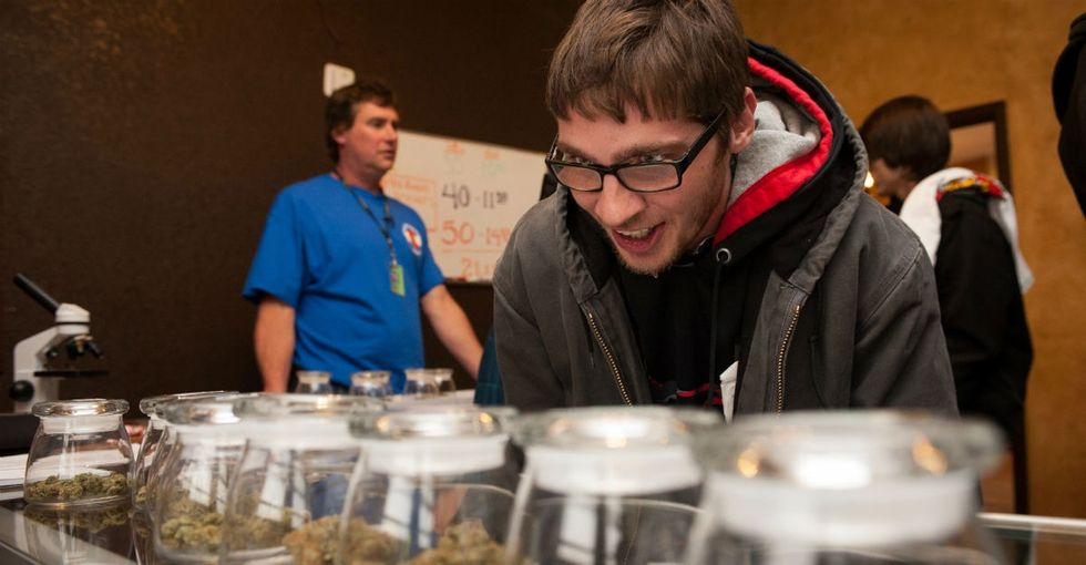 Colorado is raking in money from legal weed, and it's helping the homeless.