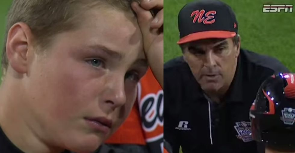 A coach who actually gets that the kids on his team played their best and still lost? Priceless.