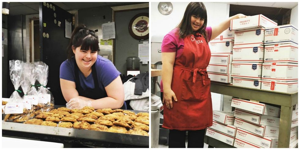 Rejected from job after job, this baker with Down syndrome opened her own shop instead.