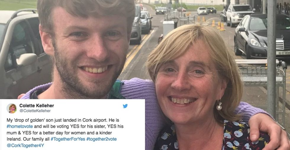 10 heartwarming, beautiful scenes and reactions to Irish people going #HomeToVote.